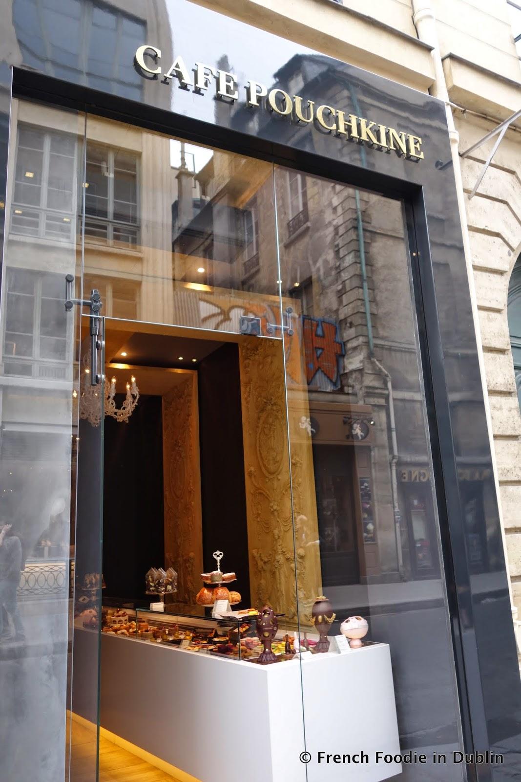 taste of paris caf pouchkine 75003 french foodie in dublin food blog dublin food tours. Black Bedroom Furniture Sets. Home Design Ideas