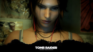 Lara Croft Face 2013 HD Wallpaper