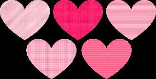 Valentine Hearts 1f