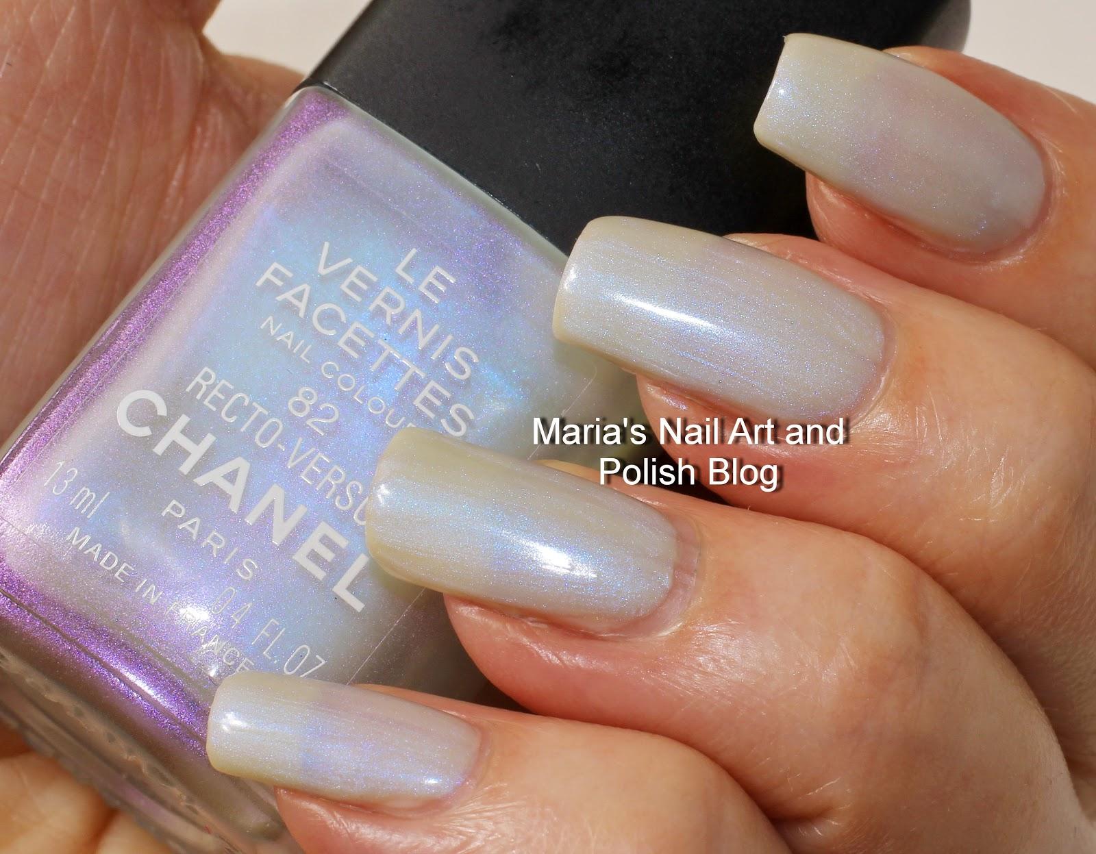 Marias Nail Art and Polish Blog: Chanel Recto-Verso 82, Les Vernis ...