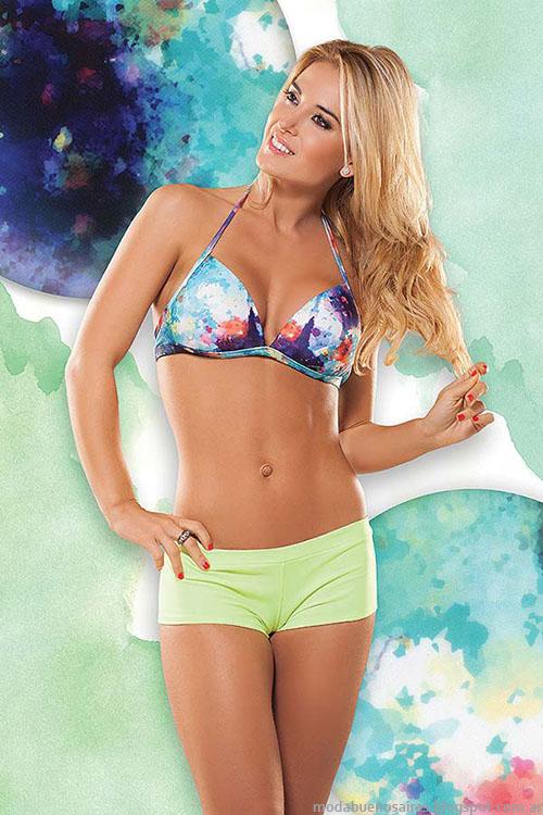 Bikinis con minishort 2015 Cocot.