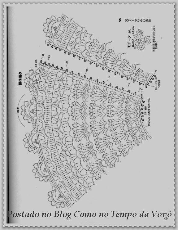 Ютуб вязание крючком шаль накидка схемы 41