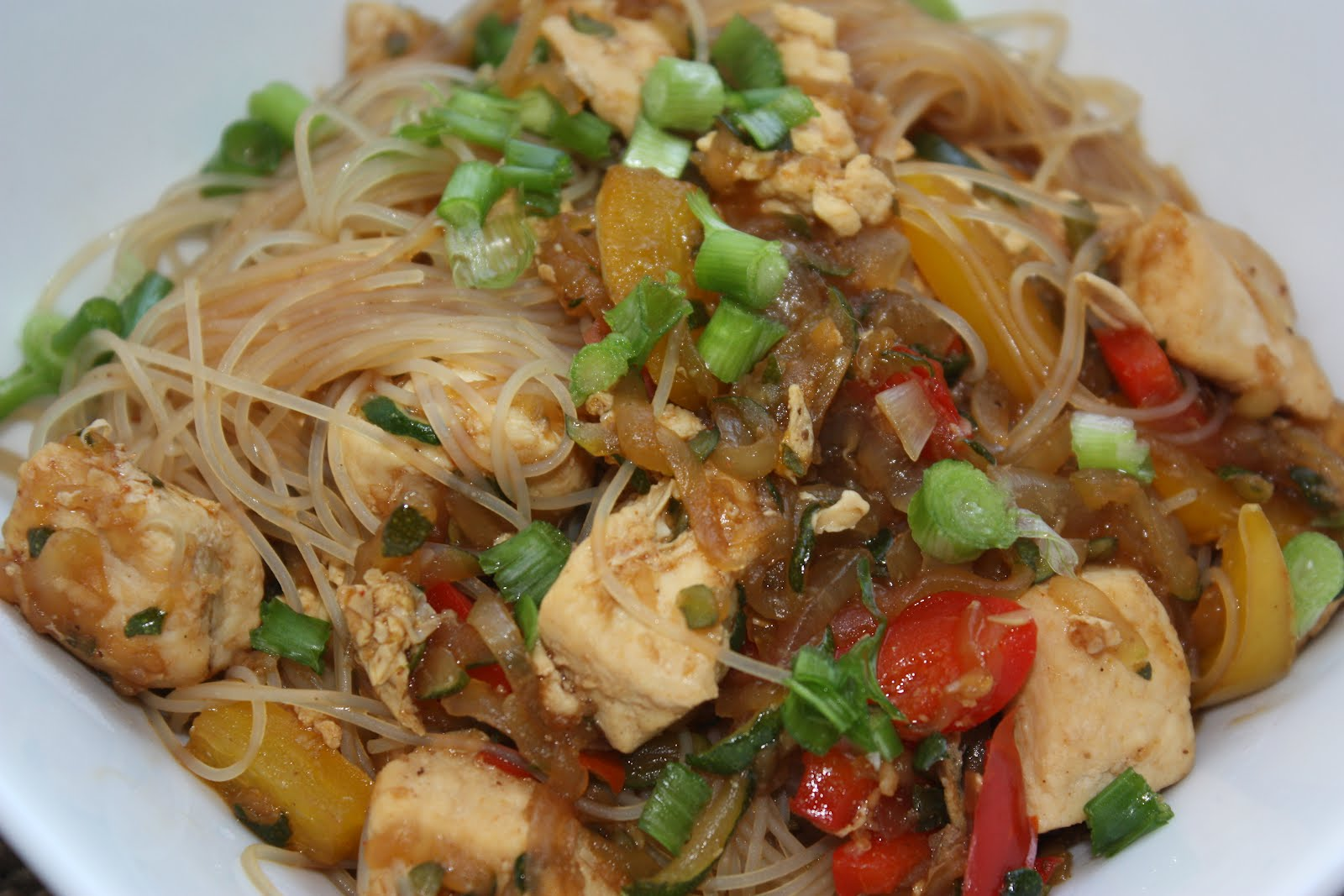 Southern Living Yankee: Chicken Pad Thai