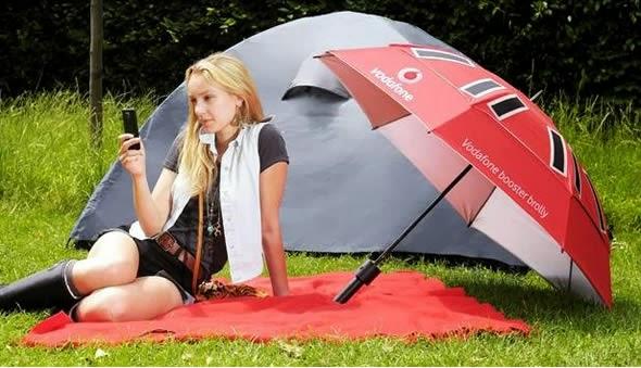 Umbrella Solar Charger for Gadgets