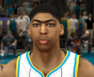 NBA 2K13 Anthony Davis Cyber Face Mod PC