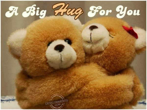 Happy Hug day graphics and images