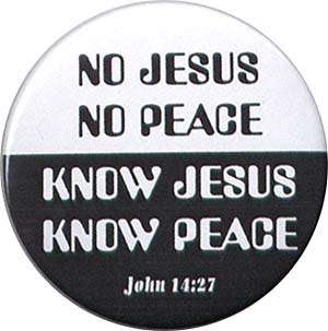 No Jesus No Peace