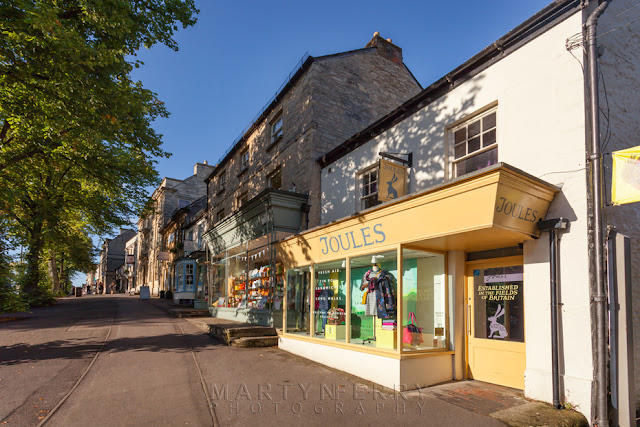 Witney High Street with its independent shops by Martyn Ferry Photography
