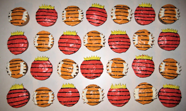 Calvin and Hobbes Themed Cupcakes 1
