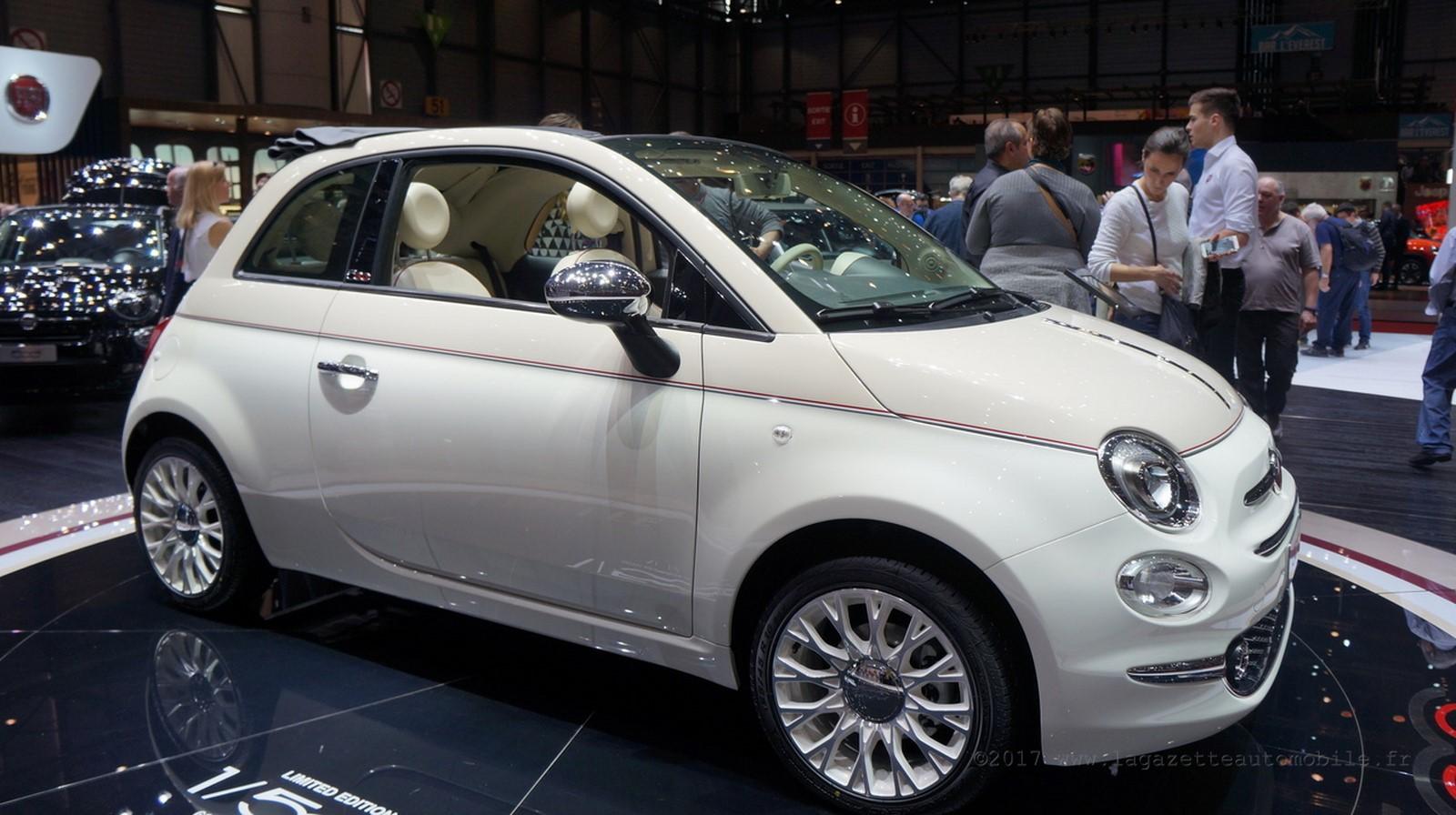Fiat 500C 60ème anniversaire