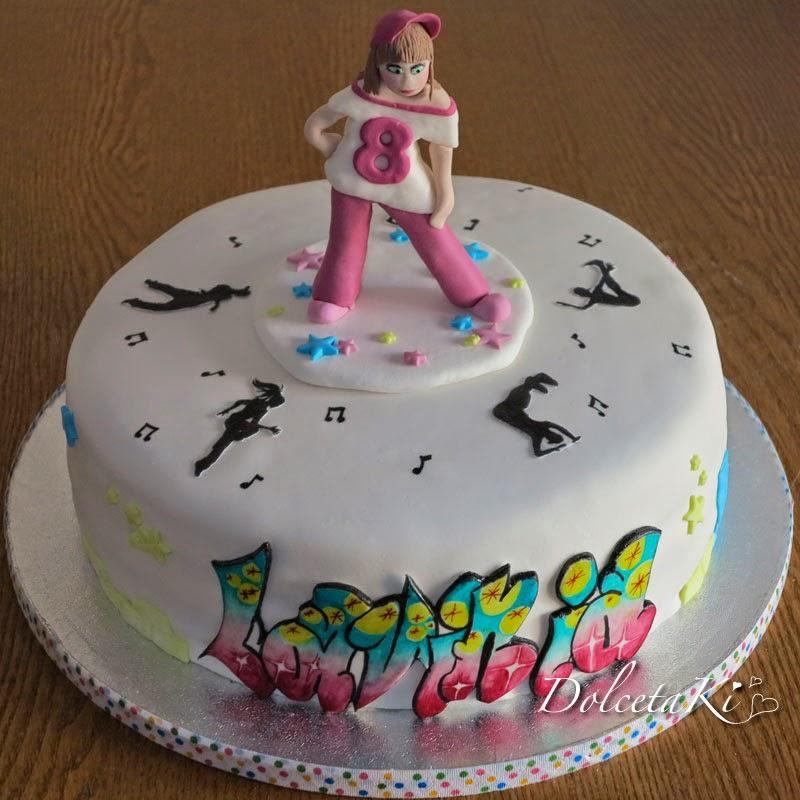 torta bambolina hip hop