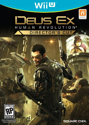 Box art for Wii U version of Deus Ex: Human Revolution