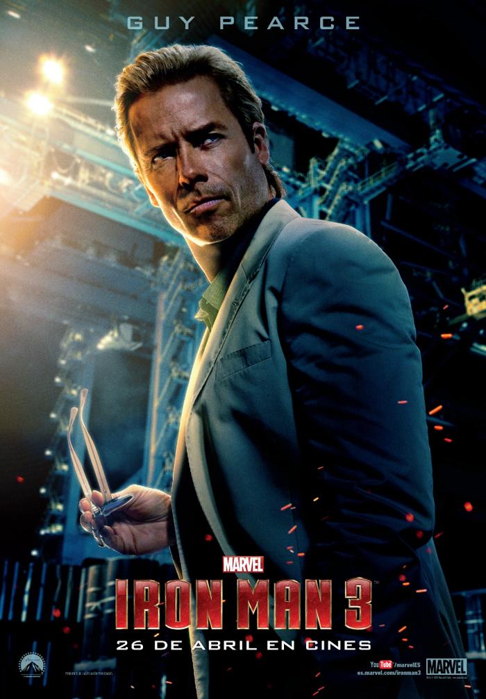 Nuevo personaje de Iron Man 3 - Aldrich Killian