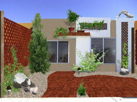 Como tabajamos dise o construcci n de jardines obras for Jardines para el frente de la casa