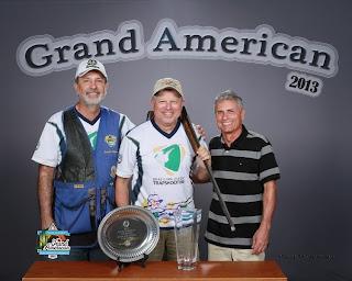 Octacílio Padrão Jr, João Cezar Borowski e Érico Luiz Nunes - Grand American - Tiro ao Prato - Tiro Esportivo