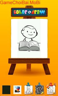 [Android] Phần mềm tập Vẽ tranh và tô màu cho trẻ em