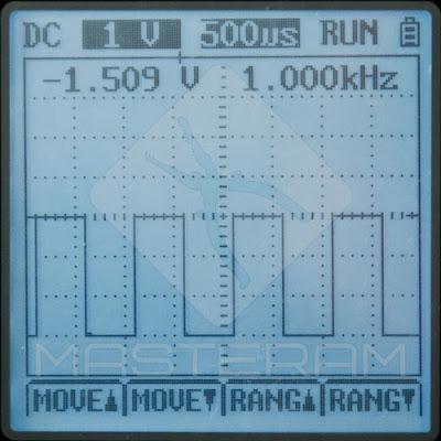 Режим осциллографа измерительного прибора UNI-T UT81B