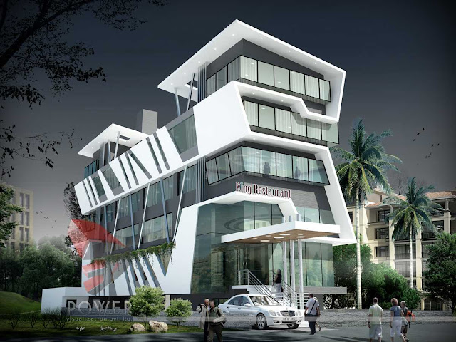 3d Animation Of Hotel,3d Architectural rendering of hotel