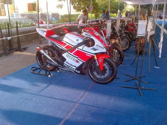 Modifikasi Yamaha Vixion Ala M1
