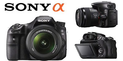 Sony DSLT camera, digital SLR camera