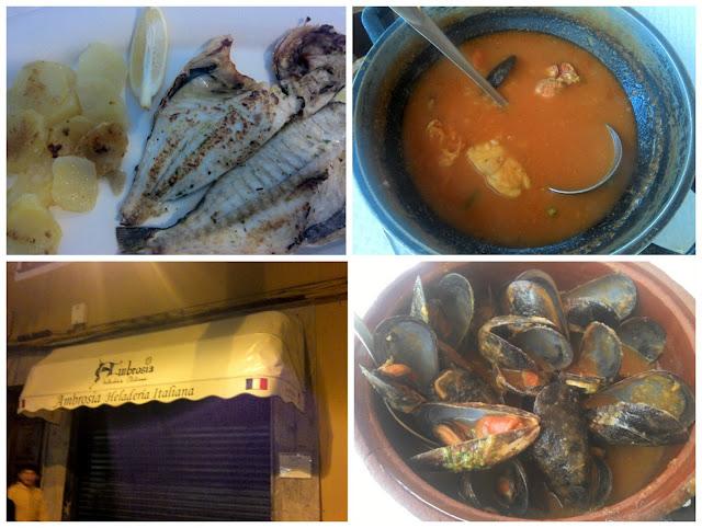 Hiszpanskie jedzenie