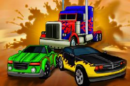 Transformes Araba Yarışı