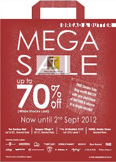 Bread & Butter Mega Sale 2012