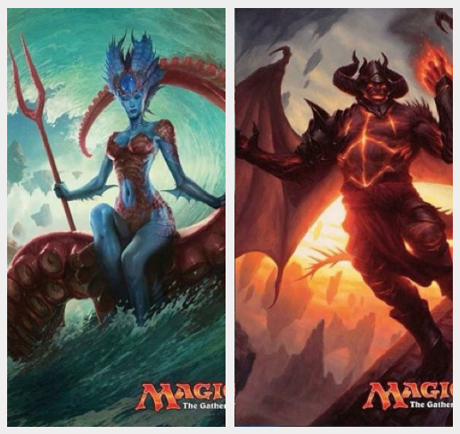 Magic: the Gathering - BFZ Eldrazi Art Dump 2 of 2