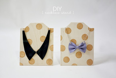 Stylish DIY Necklace Stand