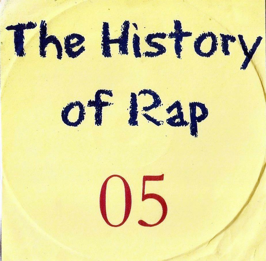 THE HISTORY  OF HIP HOP VOL. 5  - RARIDADE