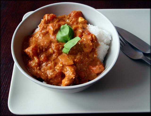 tikka masala, curry z kurczaka