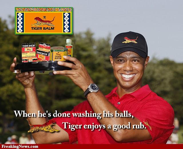 Tiger Woods Juga Mempercayai Produk TIGER BALM
