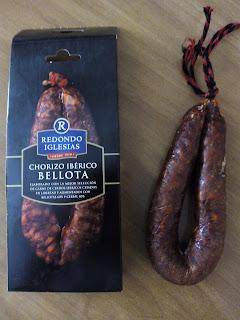 Chorizo ibérico de bellota Redondo Iglesias