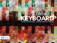 Sergio Cervetti Keyboard3 works for piano, harpsichord and organ