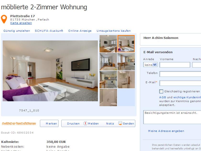 Wohnung Mieten M Ef Bf Bdnchen Schwabing