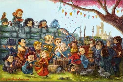Game Of Thrones: Versión escolar para niños