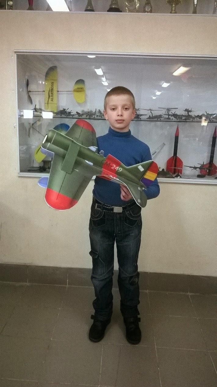 Ярмоленко Алексей Авиамодельный кружок Киев