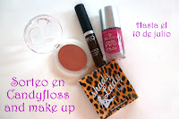 Sorteo en candyfloss and make up