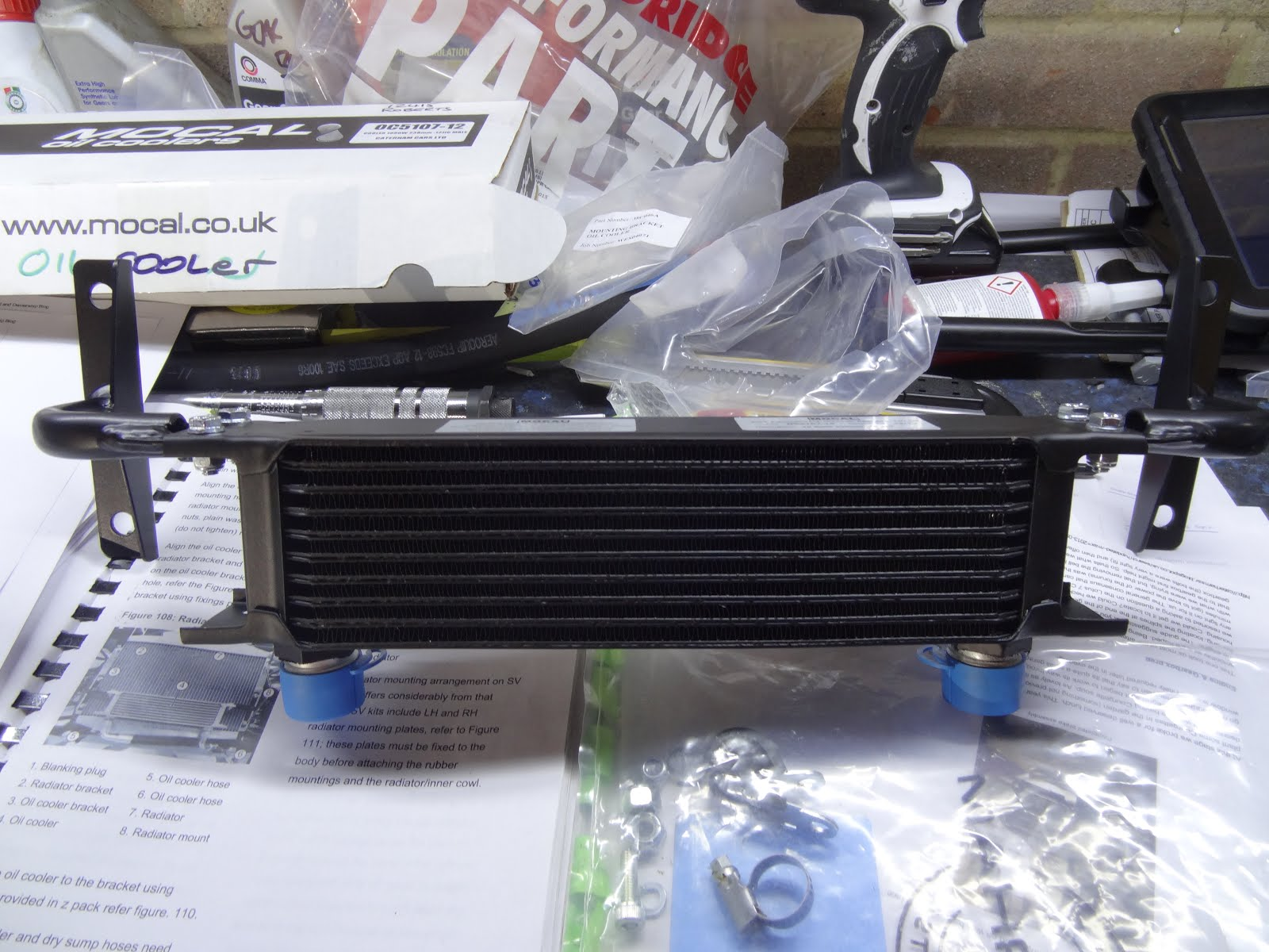 Father and son caterham 420r build blog build day 19 for Where can i drop off used motor oil
