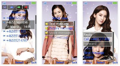 少女時代SonyEricsson手機主題for Aino含多媒體﹝240x432﹞