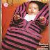 Patrón: Cobertor con cierre y broches para bebés (imperdible!)