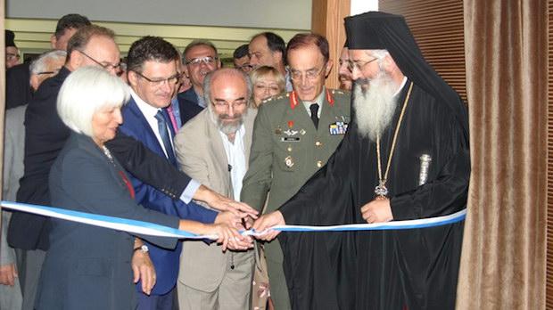 Εγκαινιάστηκε η ανακαινισμένη αίθουσα του Πνευματικού Κέντρου της Μητρόπολης Αλεξανδρούπολης