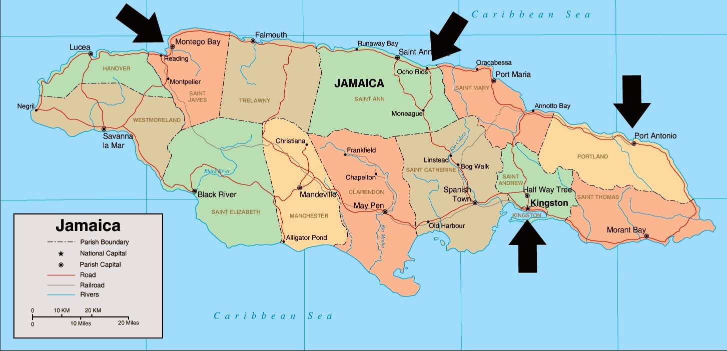 but first a few fun facts about jamaica