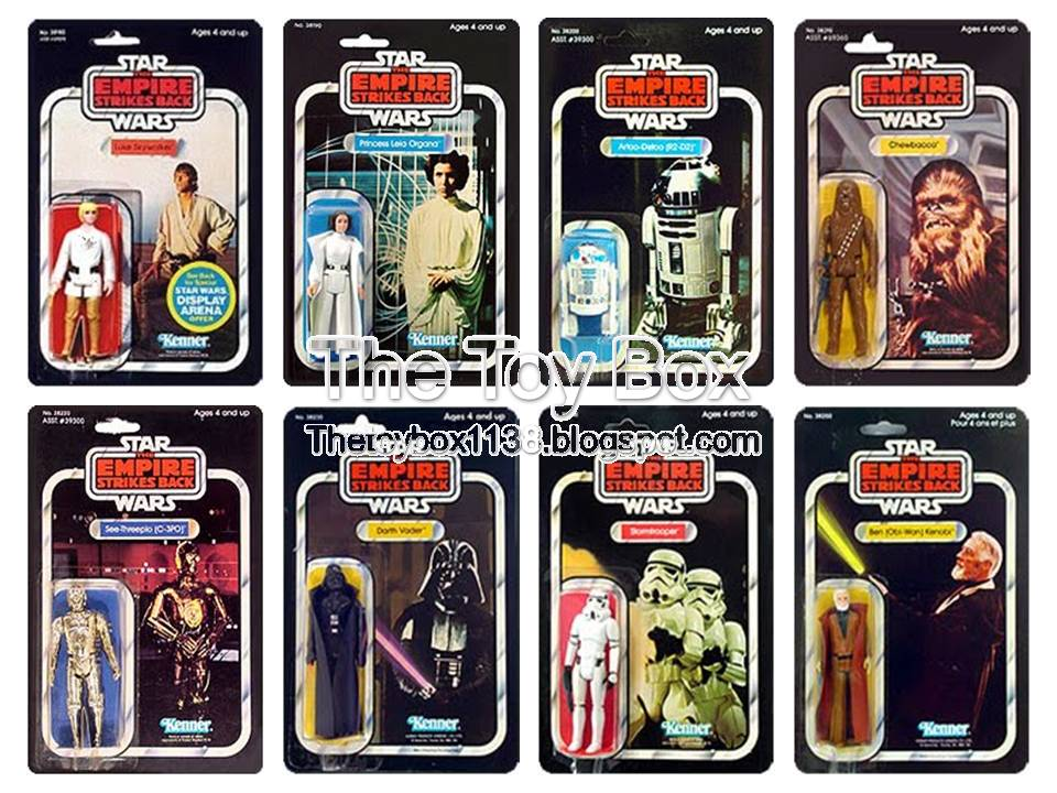 Kenner Star Wars Toys : The toy box star wars empire strikes back kenner