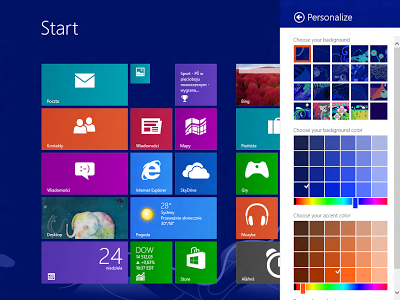 Free Download Windows 8 Professional Blue (x86) Full Activated