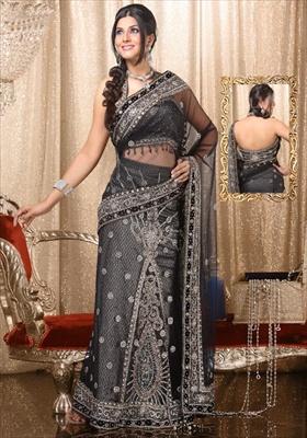 lehenga style sarees online