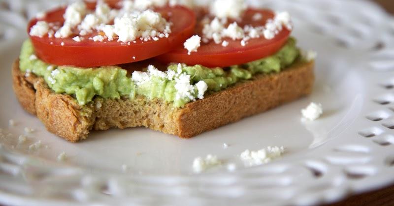 The Flour Sack: Avocado & Tomato Tartine