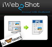 Скриншот с iWeb2Shot