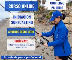 Curso ONLINE Iniciación al surfcasting