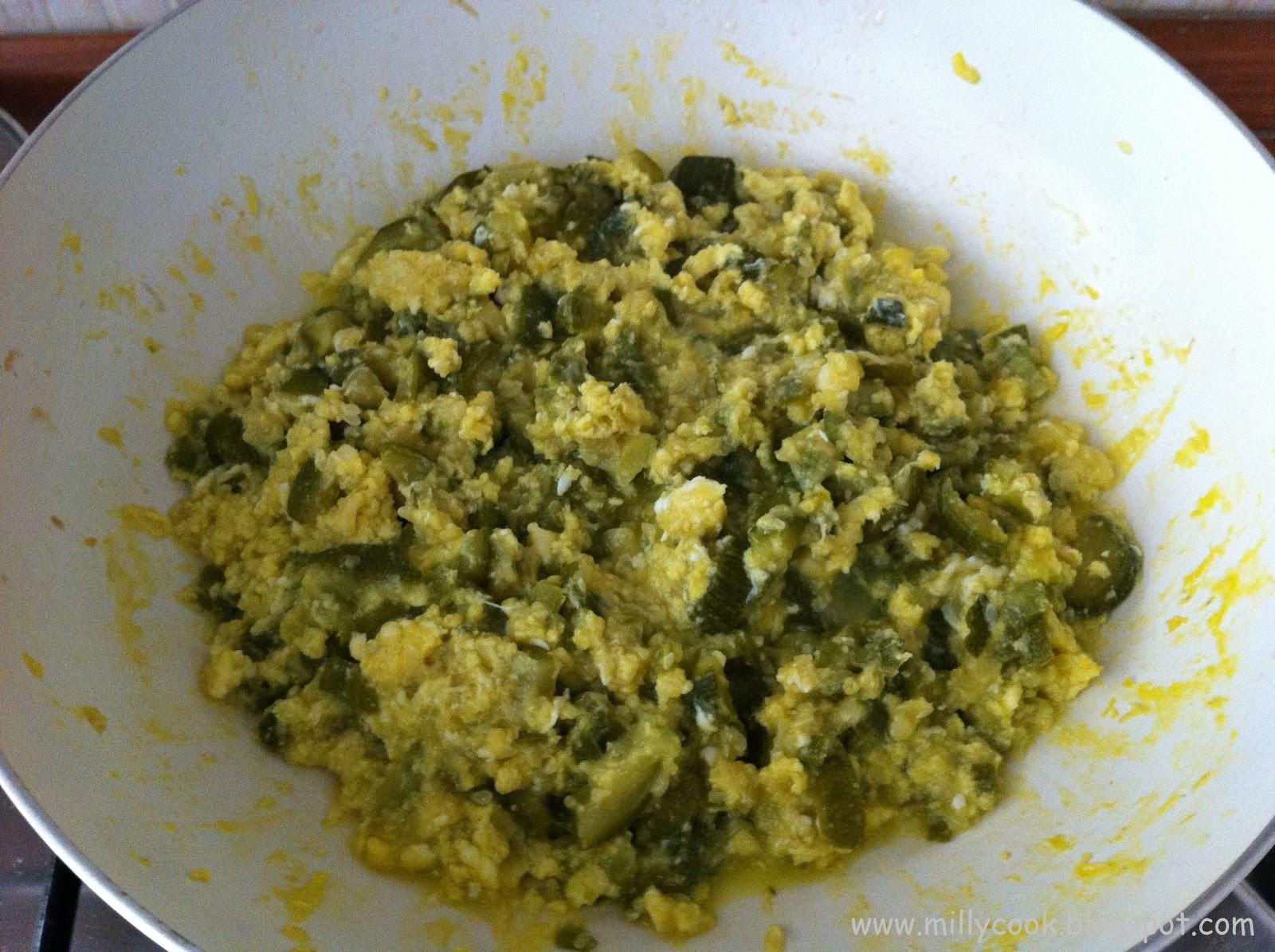Milly 39 s cook fusilli con zucchine e uova for Cucinare 2 uova